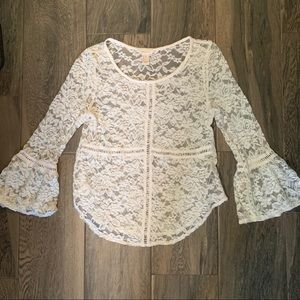 💗 5 for $25 Forever 21 lace top